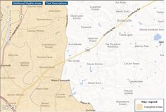 USDA Home Loan Maps Wake Forest and Rolesville #NC What could be changing