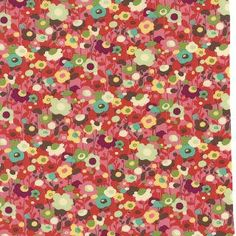 Avant Garden - Cherry - From Moda - 16126 12 - One Yard - 9.75 by thestockroom on Etsy https://www.etsy.com/listing/197276741/avant-garden-cherry-from-moda-16126-12