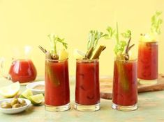 This is similar to Emerils, but a touch different. It will be the last bloody mary recipe you will ever want - I've tried several until I tweaked this one just right! Nothing like fresh. Pickled Green Beans, Pickled Okra, Pickled Sausage, Fun Drinks, Yummy Drinks, Alcoholic Beverages, Mixed Drinks, Party Drinks, Liquor Drinks