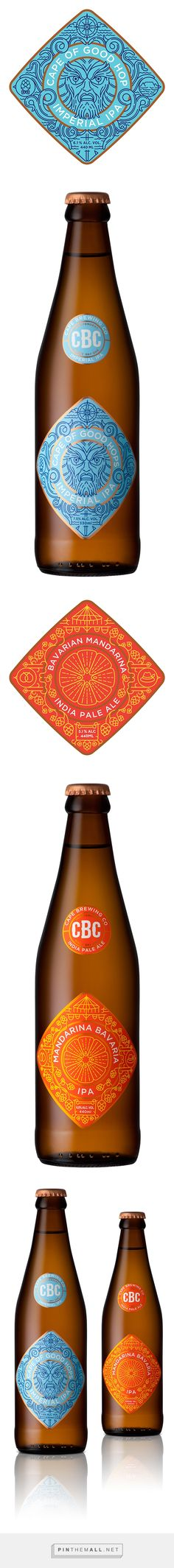 Cape Brewing Company packaging designed by  MUTI