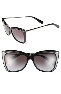 MARC JACOBS 56mm Cat Eye Sunglasses available at #Nordstrom