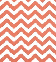 Widenor Chevron Coral wallpaper by Thibaut