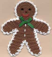 Free Crochet Pattern For Gingerbread Man Hat : 1000+ images about Crochet Christmas on Pinterest ...