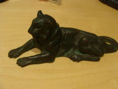 Tifffany Studios Lion Paperweight