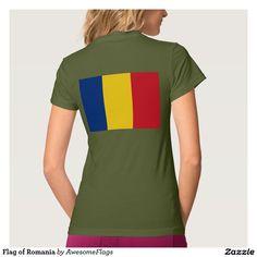 Flag of Romania Tshirts