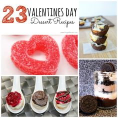 Here are some really fun and unique Valentine's Day Desserts to try!