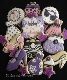 Girly Cookie Set by Cookies with Character