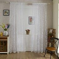 Rod+Pocket+One+Panel+Curtain+Country+,+Print+Living+Room+Polyester+Material+Curtains+Drapes+Home+Decoration+–+USD+$+42.49