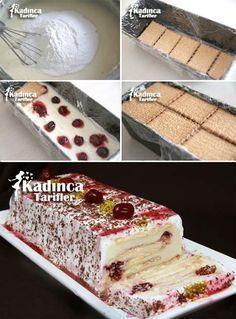 Kolay Bisküvili Pasta Tarifi