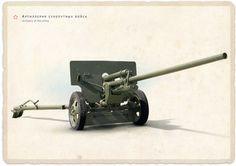 57‑мм противотанковая пушка ЗиС–2 обр. 1941 г.