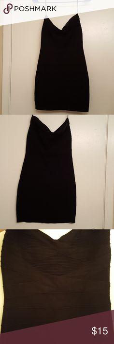Forever 21 Strapless Black Bodycon Dress Forever 21 strapless black bodycon dress. Has a anti-slip strip inside on the front. Forever 21 Dresses Strapless