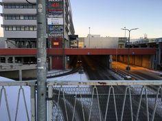 Finnish urbanity #rovaniemi #finland #urban #architecture #town #concrete #north #arctic #cold #explore #wander
