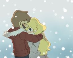 """Mario and Peach :) This looks like an anime!! I want to watch a """"kimi ni todoke'' style episode of this <3 sooo cute"""