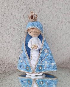Coin Purse, Crafty, God, Purses, Christmas Ornaments, Holiday Decor, Crochet Angels, Amigurumi Doll, Crochet Dolls
