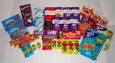 Photograph of Australian Cadbury products