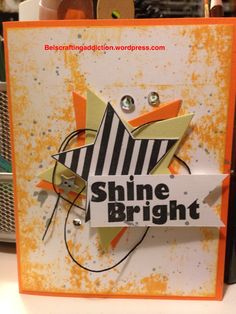 Fun Stampers Journey, FSJ, homemade card, stamping, star bright, kit of the month.