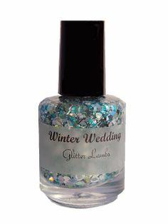 Glitter Lambs: Winter Wedding Nail Polish
