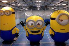 Bannnnnnaaaaannnnnaaaaa! Minions made by Cameron Balloons Ltd for Universal Studios