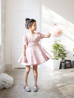 Allo Cotton Rose Bouquet Dress (2C)