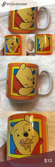 Vintage Disney Winnie the Pooh Mug! -Good condition!  -Pre loved item -I do not accept offers in the comments so please make all reasonable offers using the offer button only. :) -NO TRADES  -NO HOLDS 🚫 -I ship every Monday, Wednesday and Friday  -All items are hand washed before they are shipped out   💕Instagram- allisonsbeautyboutique 💕 Your purchase is going to help me graduate community college with as little debt as possible. Thank you! Disney Other