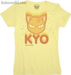 Fruits Basket Kyo With Stars T-Shirt