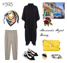 """#595 Wanderlust"" by aminahs-hijab-diary ❤ liked on Polyvore featuring MANGO, Dolce&Gabbana and Rivka Friedman"