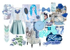 """""""Simply blue"""" by dory-speaks-whale ❤ liked on Polyvore featuring Seletti, adidas, Abercrombie & Fitch, Chicwish, PBteen, T-shirt & Jeans, Casetify, Tommy Hilfiger, Pier 1 Imports and Shourouk"""