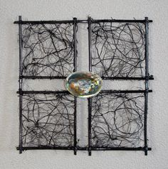 Natural Wall Art by Kirsten Franks.... I wonder if I could recreate this?!