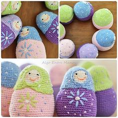 Mamushkas by Algo Entre Manos, via Flickr