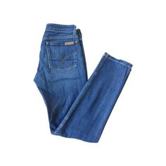 Jean PAUL & JOE Bleu foncé taille 36 FR en Coton Toutes saisons -... ❤ liked on Polyvore featuring jeans, pants, bottoms, trousers and paul & joe