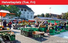 A List of Farmers Markets in Zurich