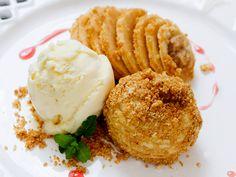 Sobremesa sem culpa: crumble de maçã com poucas calorias. Veja a receita http://luciliadiniz.com/crumble-de-maca-diferente/