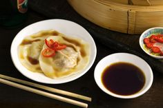 These more-ish, make-ahead dumplings are the perfect way to start the meal and whet your appetite.