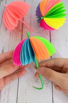 Paper Umbrella Craft for Kids Rainy day spring craft 2019 The post Paper Umbrella Craft for Kids Rainy day spring craft 2019 appeared first on Paper ideas.DIY Miniature – Folding Mini Cute Wallet, Backpack, Umbrella Simply For Barbie, – Page 8464 Paper Flowers Craft, Paper Crafts For Kids, Diy Home Crafts, Diy Arts And Crafts, Flower Crafts, Creative Crafts, Handmade Crafts, Easy Crafts, Diy Flower