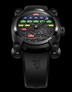 #Romain Jerome Space Invader priced at USD 17,900. #unique #watch