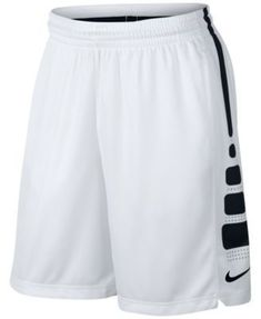 Nike Men's Elite Dri-fit Basketball Shorts - White S Nike Elites, Nike Outfits, Workout Outfits, Nike Basketball Shorts, Basketball Outfits, Basketball Drills, Basketball Tattoos, Basketball Stuff, Basketball Quotes