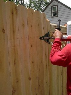 How to Build a Wooden Gate Professionally Building A Wooden Gate, Wooden Fence Gate, Building A Fence, Fence Options, Custom Gates, Cool Tv Stands, Palette, Driveway Gate, Backyard Fences