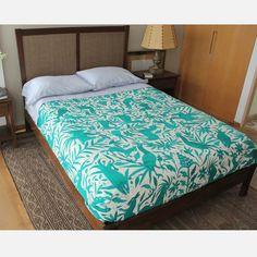 Turquesa Otomi Bedspread by Teterete