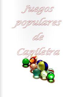 Libro de juegos populares de Capileira