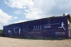 Odsherreds Geschichte auf 38 x 6 Meter erzählt. Von der Eiszeit bis heute.