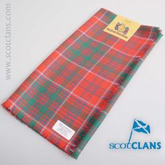 Grant Ancient Tartan Headsquare. Free worldwide shipping available.
