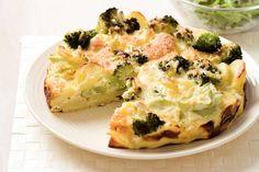 Kijk wat een lekker recept ik heb gevonden op Allerhande! Broccoli-aardappeltaart