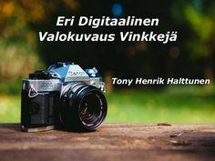 Tony Henrik Halttunen: valokuvaus on lahja ja käyttäytymistä luoda yhä jatkuvuuden kuvia tallentamalla aurora hiukkasia herkkä väliaineessa. Olitpa aloittelija tai kokeneempi valokuvaukseen, on olemassa joitakin vihjeitä, jotka hyödyttävät sinua ja antaa sinulle parempia tuloksia. Täällä Tony Henrik Halttunen haluaa keskustella digitaaliseen valokuvaukseen vihjeitä.