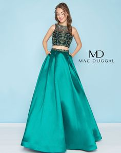ea08e9830efd9 Mac Duggal 66311H. Long Formal GownsFormal DressesProm ...