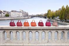 Реклама городской коллекции сумок Louis Vuitton