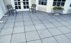 12″ Square Patio Stone | | Pavestone Yes. .. with ground cover or miss between pavers