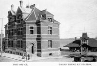 Post Office and Grand Trunk Railway Station, Barrie