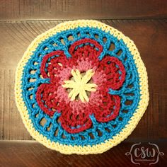 Sophie's Universe - Part 1 - how to choose yarn colors for this crochet blanket cal on Colorful Christine