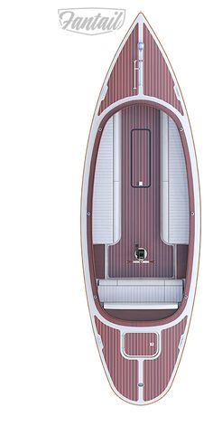 Model Fantail 217 | High end 100% electric boat | CEBC