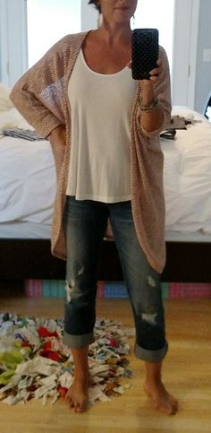 Papermoon Bruns Cocoon Cardigan, Stitch Fix... Love the Cardigan, not the pants.  If it is lightweight - even better.  If the color is neutral then it would be perfect.